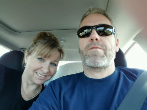 Ed & Susanne, Summer Vacation Road Trip, June, 2016